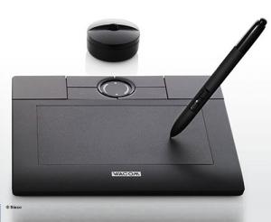 ក្ដារគំនូរអេឡិចត្រូនិច (Tablet Mouse)